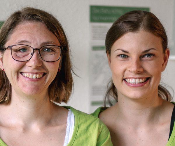 Praxis-fuer-Physiotherapie-Muhl-und-Pallokat-GbR – Stephanie Muhl und Carmen Pallokat
